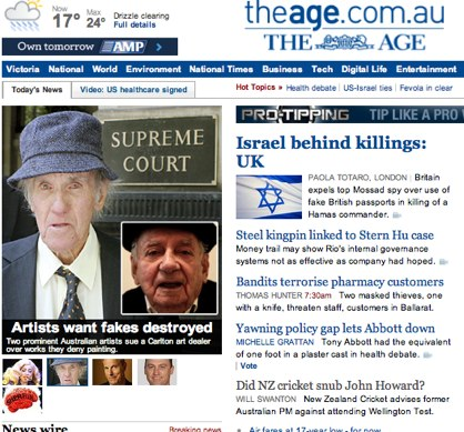 The Age - Business, World & Breaking News | Melbourne, Australia